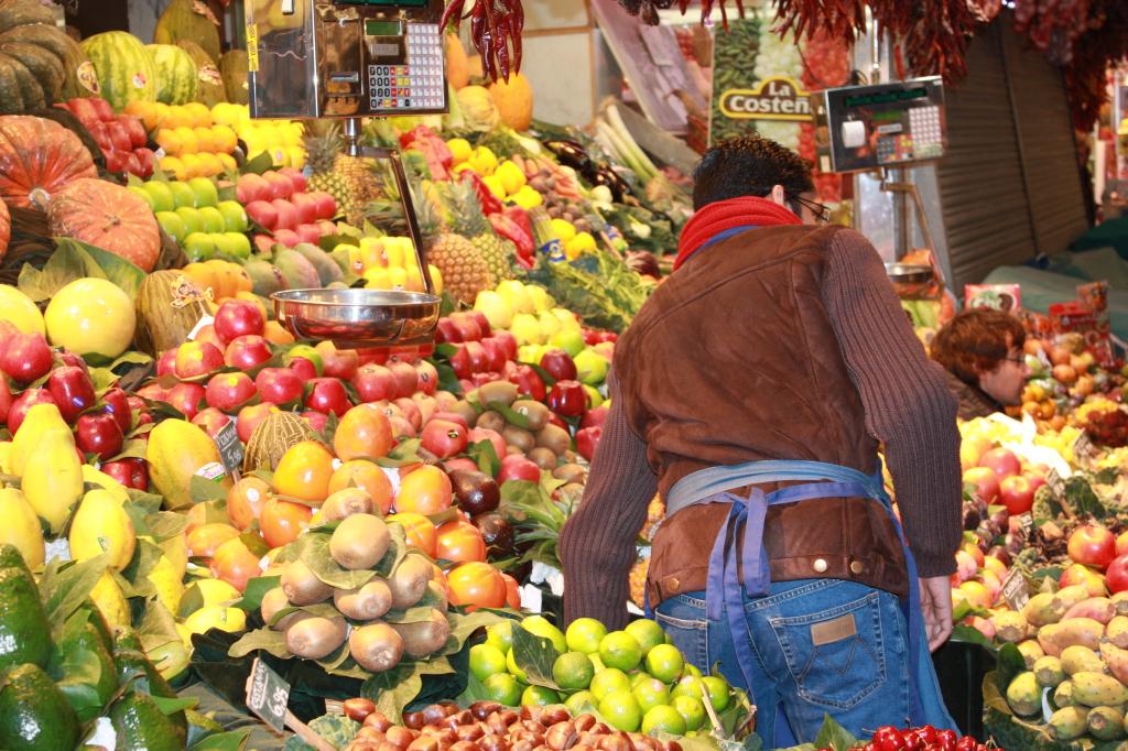 marche fruits exotiques